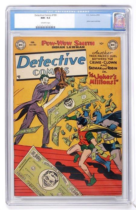 91057: Detective Comics #180 (DC, 1952) CGC NM- 9.2