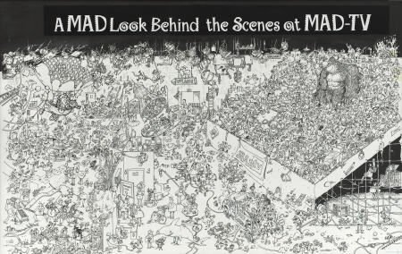 92001: Sergio Aragones Mad TV, Complete 2-page Story