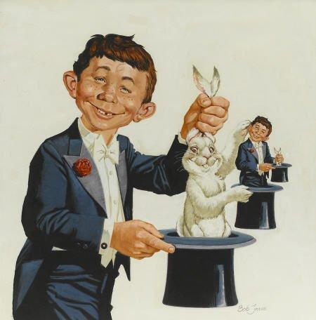 92008: Bob Jones Mad #182 Cover Original Art 1976