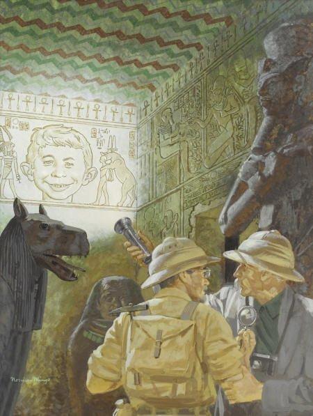 92012: Norman Mingo Mad #32 Cover Original Art 1957