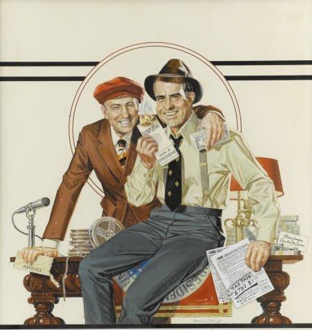 92020: Norman Mingo Mad #171 Cover Painting Original