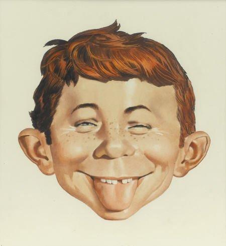 92023: Norman Mingo Mad 187 Cover Original Art 1976