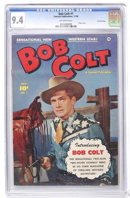 93011: Bob Colt #1 Crowley Copy pedigree CGC 9.4