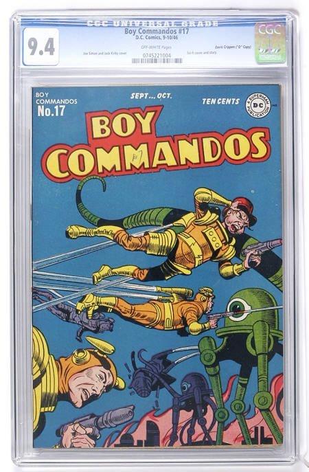 "93014: Boy Commandos #17 (""D"" Copy) CGC 9.4"