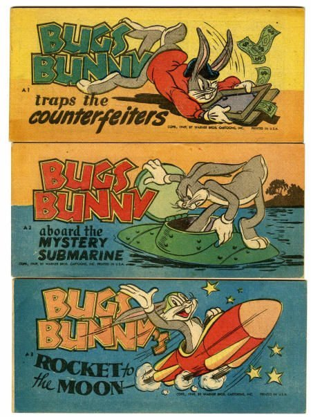 93016: Bugs Bunny Puffed Rice Giveaway Group (1949)