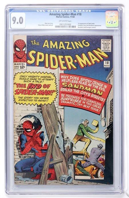 93280: The Amazing Spider-Man #18 (1964) CGC 9.0