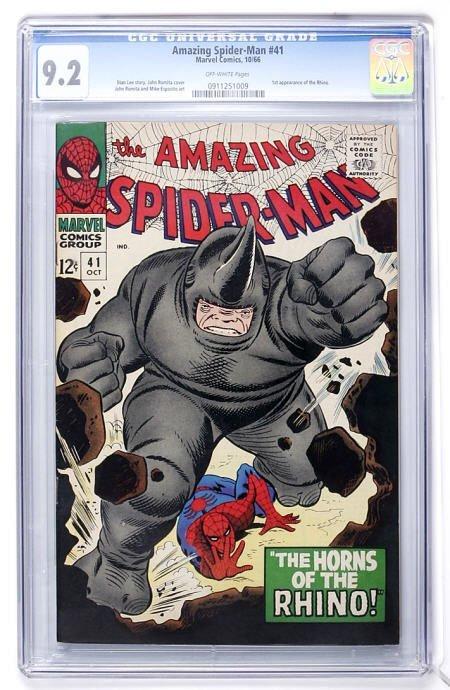 93290: The Amazing Spider-Man #41 (1966) CGC 9.2