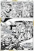 93463: John Buscema and Joe Sinnott Fantastic Four Art