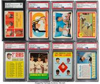 56059: 1960 Through 1967 Topps Mickey Mantle Graded Col