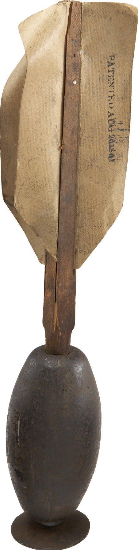 57005: Complete Three Pound Civil War Ketchum Grenade