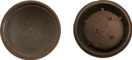 57006: Very Rare Civil War Hanes Hand Grenade