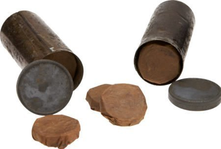 57010: Two Full Tins of Maynard Tape Primers M1855