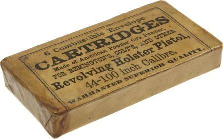 57012: Original Unopened Pack of Revolver Cartridges