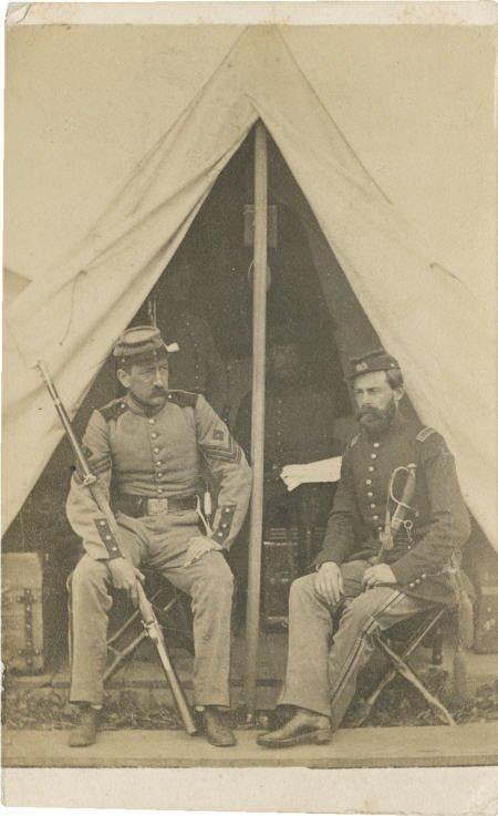 57019: Early Civil War 7th NY Infantry CDV