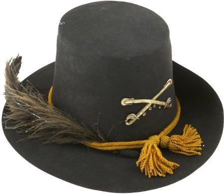 57228: About Mint 1858 Pattern Cavalry Hardee Hat.