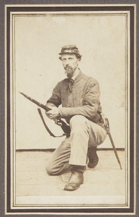 57293: Historically Important Civil War CDV Portrait