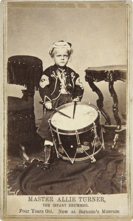 57299: Civil War Master Allie Turner, Infant Drummer