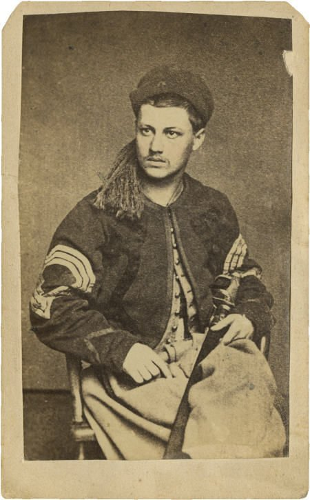 57306: Nice Civil War CDV Pennsylvania Portrait