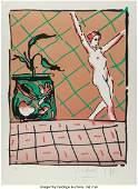 28160: Peter Max (American, b. 1937) Ballet Story, 1981