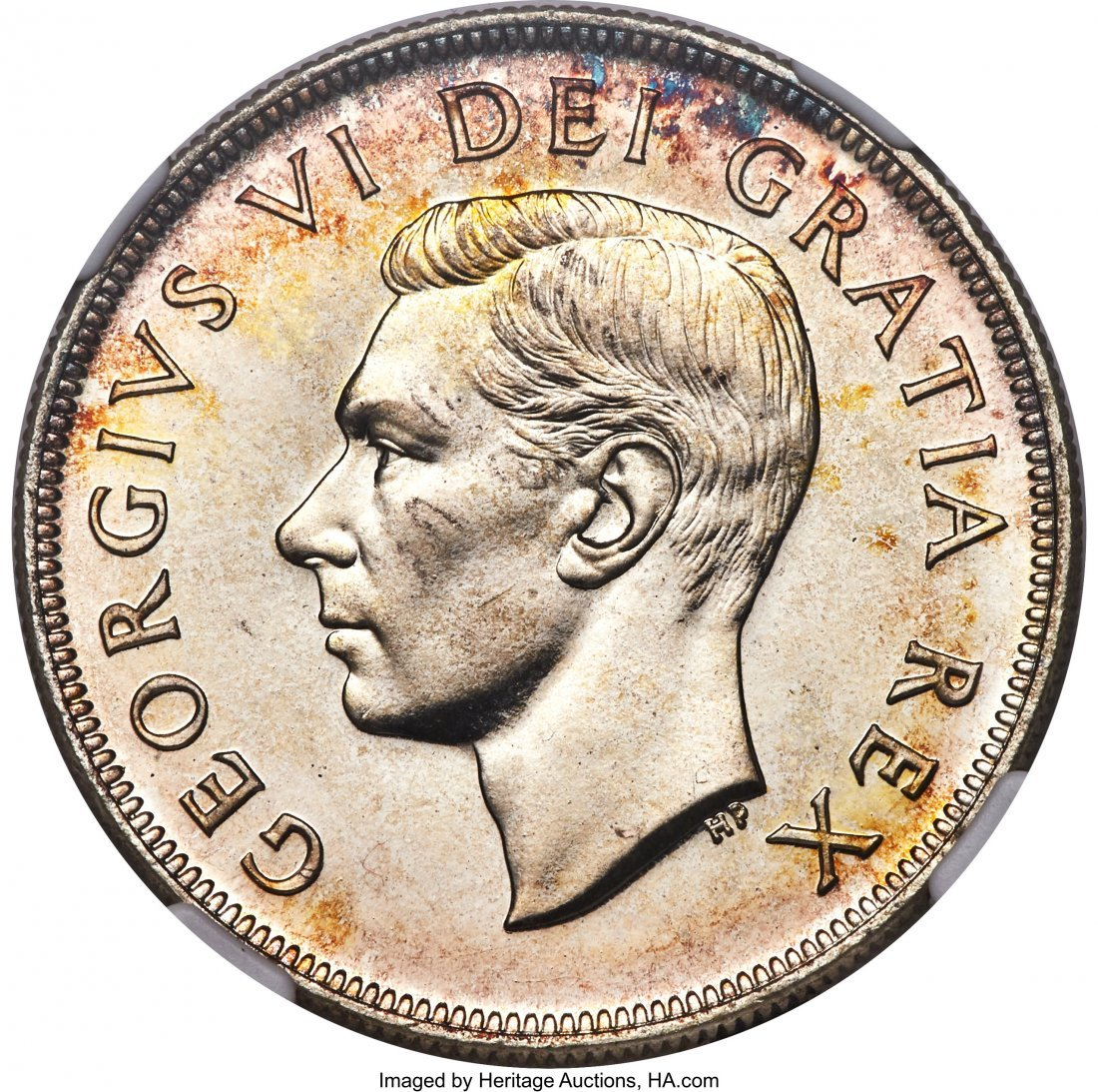 31335: George VI Prooflike Dollar 1951 PL67 NGC, Royal