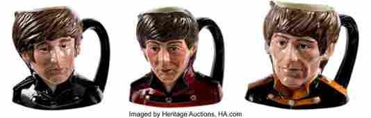 89012: The Beatles Set of Three Royal Doulton Character
