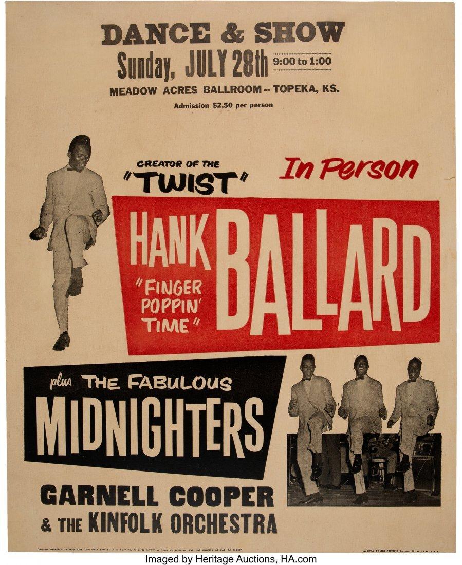 89507: Hank Ballard & The Midnighters 1963 Jumbo Concer