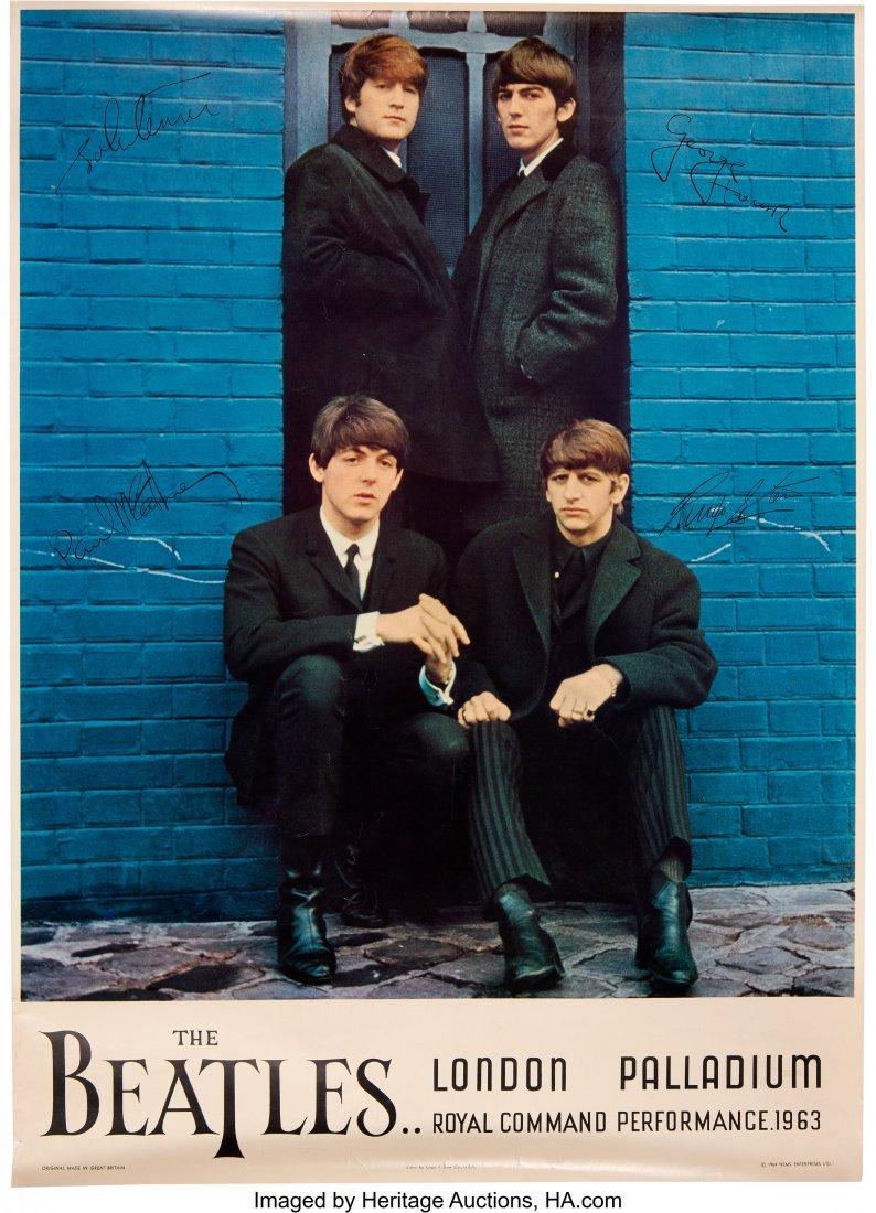 89437: The Beatles Command Performance Original Dow Lit