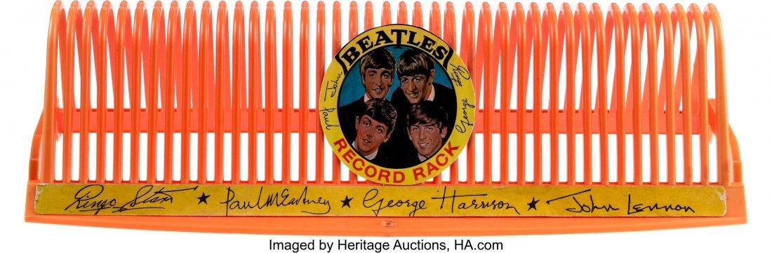 89471: The Beatles Original Plastic Record Rack (Selcol