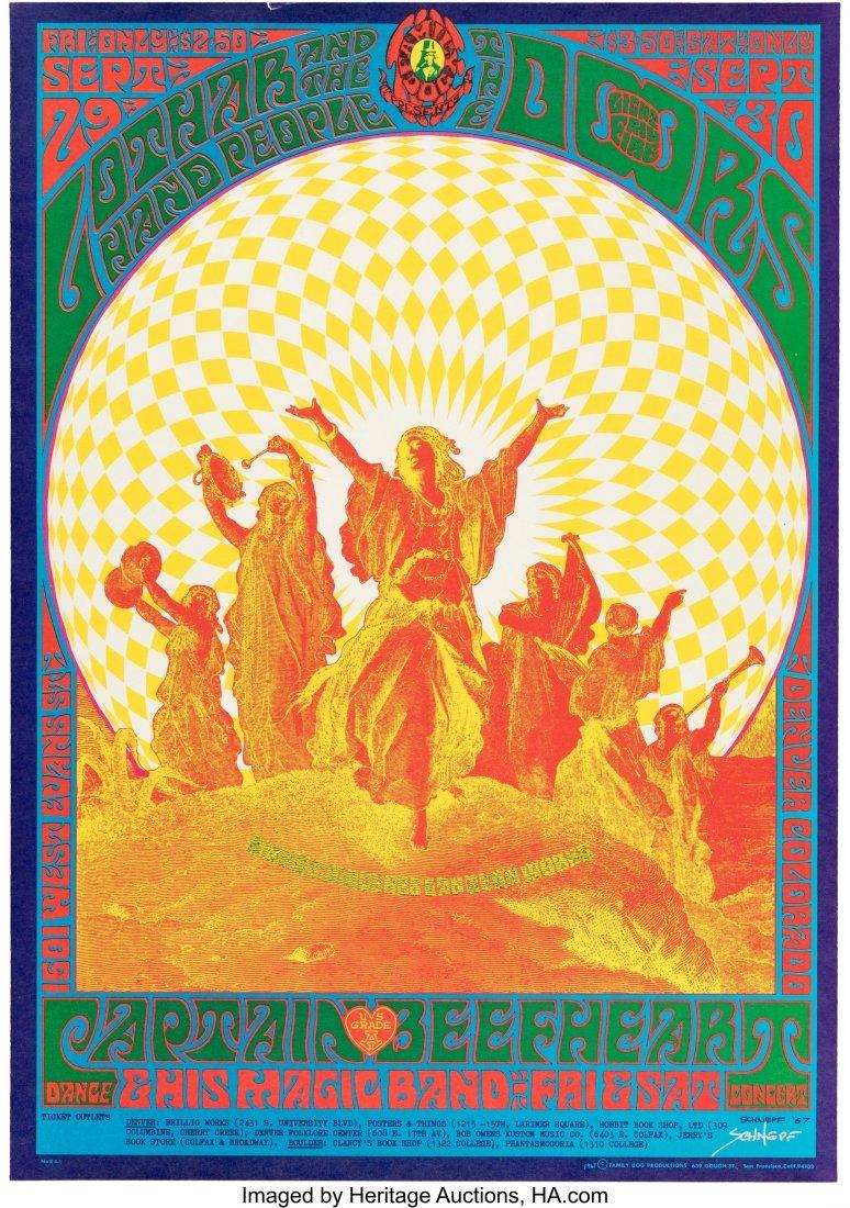 "89563: FD-84 The Doors 1967 ""Flash"" Denver Family Dog C"