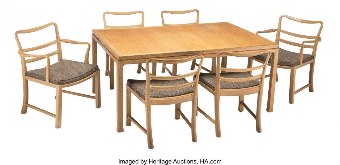 67149: Edward Wormley (American, 1907-1995) Dining Tabl