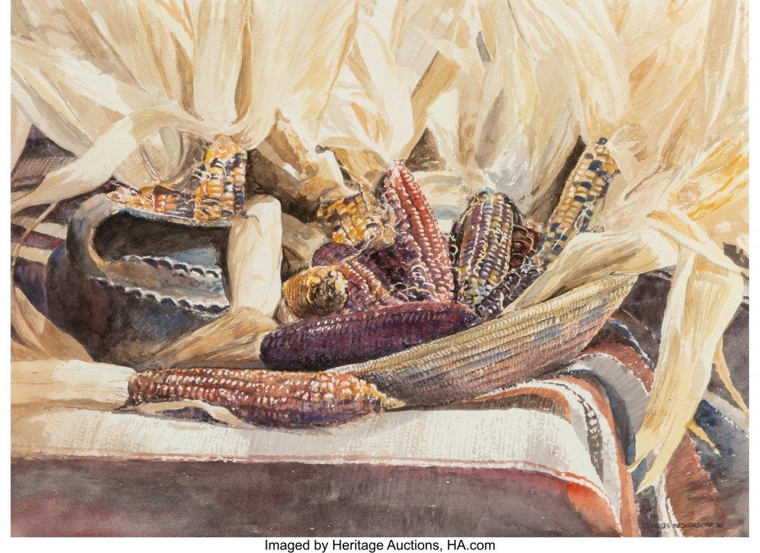 46015: Charles Beckendorf (American, 1930-1996) Indian