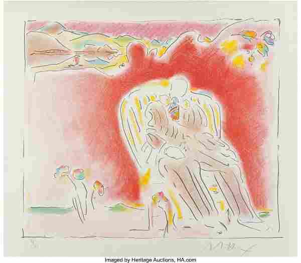 Peter Max (American, b. 1937) The Garden, 1983 L
