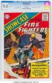 92133: Showcase #1 Firefighters (DC, 1956) CGC VF/NM 9.