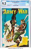 96104: Our Army at War #26 (DC, 1954) CGC NM- 9.2 Off-w