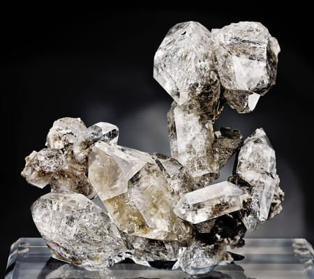 "41001: ""HERKIMER DIAMOND"" QUARTZ GROUP - THE ""POODLE"""
