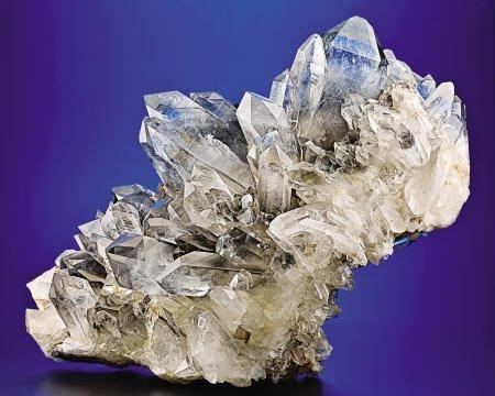 41015: QUARTZ  Collier Creek Mine, Mt Ida, Montgomery C