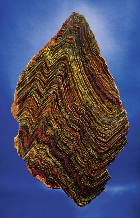 41161: LARGE TIGER IRON SLAB  Port Hedland, Western Aus
