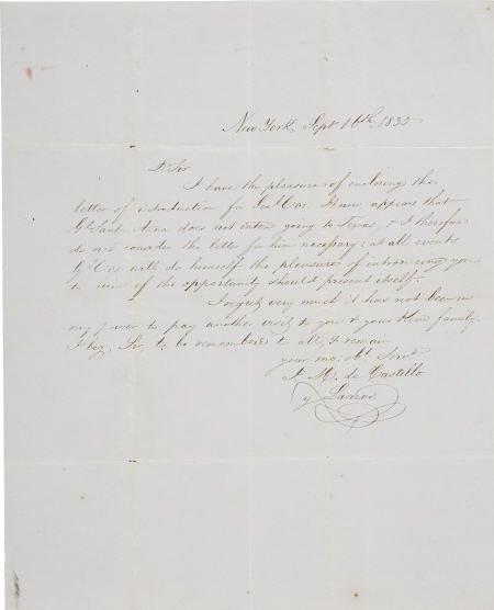 45011: [Texas Revolution] Joaquin Maria de Castillo y L