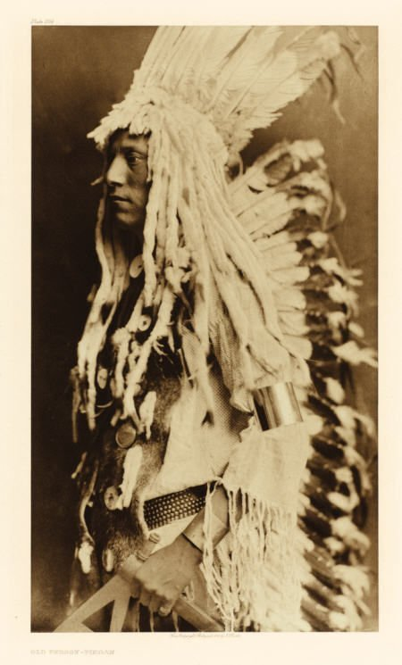 67004: EDWARD SHERIFF CURTIS (American, 1868-1952) Old