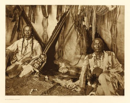 67005: EDWARD SHERIFF CURTIS (American, 1868-1952) In a