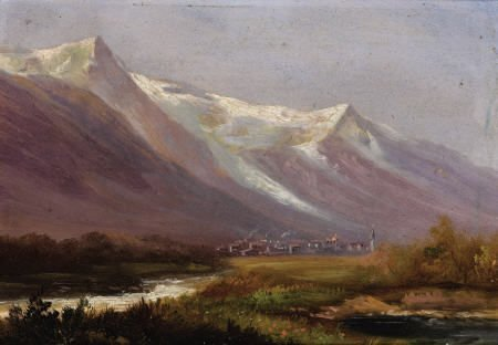 67006: Attributed to ALBERT BIERSTADT (American, 1830-1