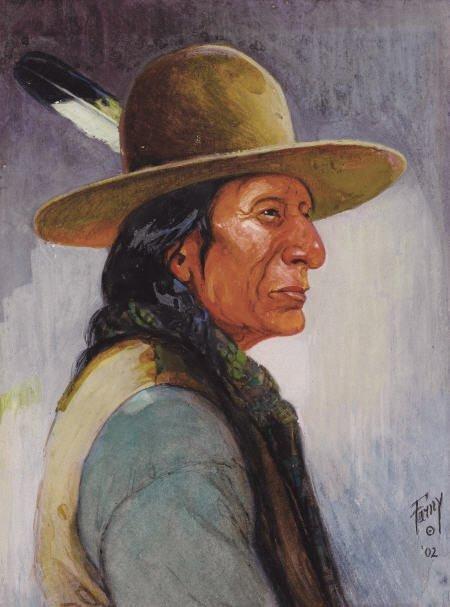 67019: HENRY FRANÇOIS FARNY (American, 1847-1916) Portr