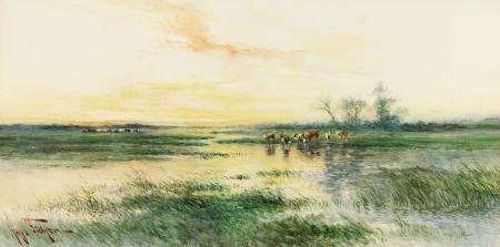 67315: HUGO ANTON FISHER (American, 1854-1916) Alameda