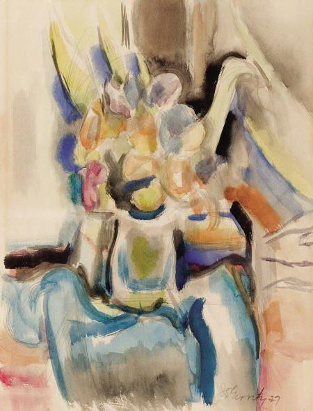 67317: JOHN EMMETT GERRITY (American, 1895-1980) Untitl