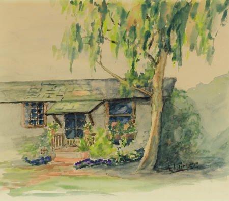 67319: E.L. GREENE (American, 20th Century) Carmel Cott