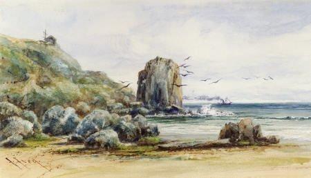 67320: JOHN JOSEPH IVEY (British/American, 1842-1910) A