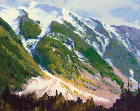 67322: PHIL KOOSER (American, 1921-2007) Promise of Spr