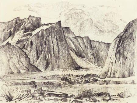67323: PAUL LAURITZ (Canadian, 1889-1975) California La