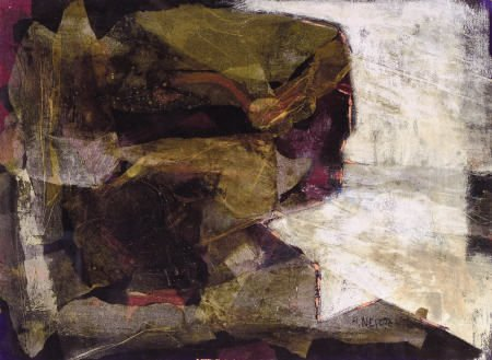 67328: ALEXANDER NEPOTE (American, 1913-1986) Abstract