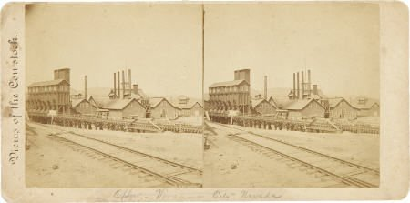 43458: Stereoview Comstock Load Virginia City, Nevada,